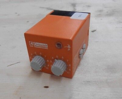 Crouzet Pabr-hh 110a Delayed Single Shot 110vac Output Spdt 10 Amp 240vac