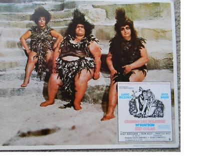 three sexy heavy set cavewomen When Women Lost Their Tails 1972 lobby card 027