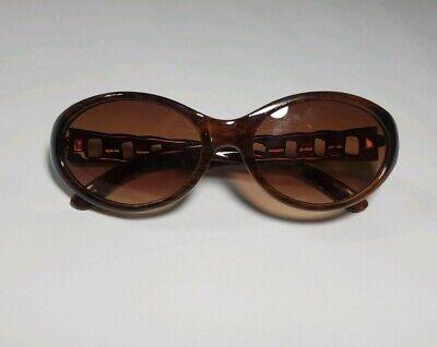 Liz claiborne Tortoise Brown Womens Sunglasses Decorative Sides New (Liz Sunglasses)