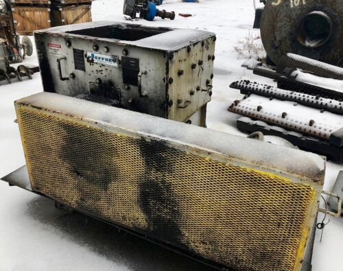 Jeffrey 30AB Hammer Mill on Skid with 40 hp Motor