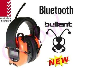 BULLANT Multimedia AM/FM Radio Worksite / Jobsite Ear Muffs Bluetooth Aux ABA840 Aba Bluetooth