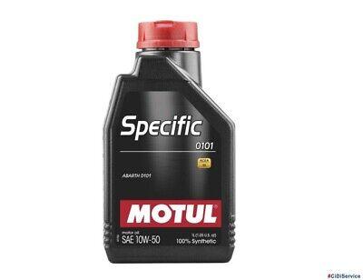 1L Olio Motore 100% Sintetico Motul 10w50 Specific ABARTH 0101 Acea C3 API SN