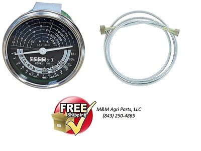 Tachometer Cable John Deere 80 820 830 - 2 Cylinder Tractor Tach Hour Meter