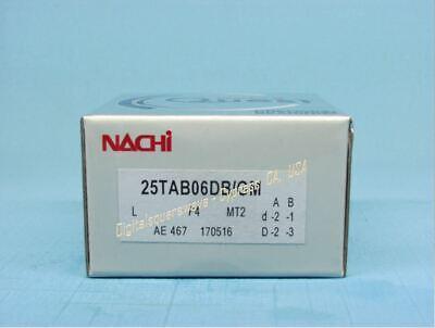 NACHI 25TAB06DB/GMP4 Abec-7 Super Precision Ball Screw Bearings.  Set of Two ()