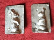 Vintage Bunny Chocolate Mold