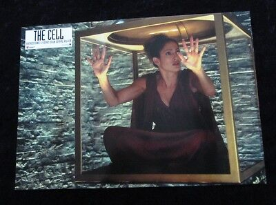 THE CELL Lobby Cards JENNIFER LOPEZ French Set of 12 stills