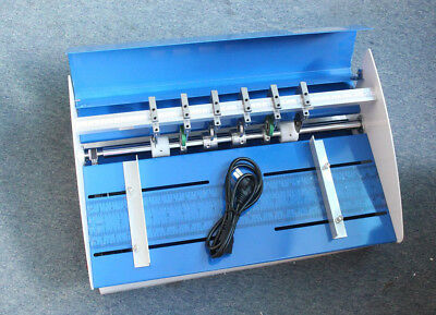 110v 3 In 1 Electric 460mm Creasing Machine Perforator Cutter Paper Creaser