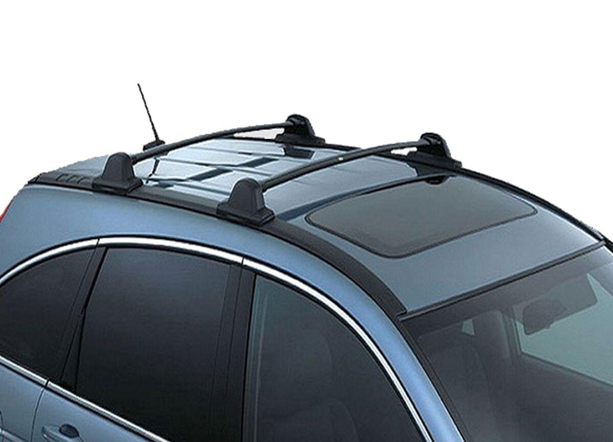 honda crv cr    black roof rack cross bars ski racks oe factory style ebay