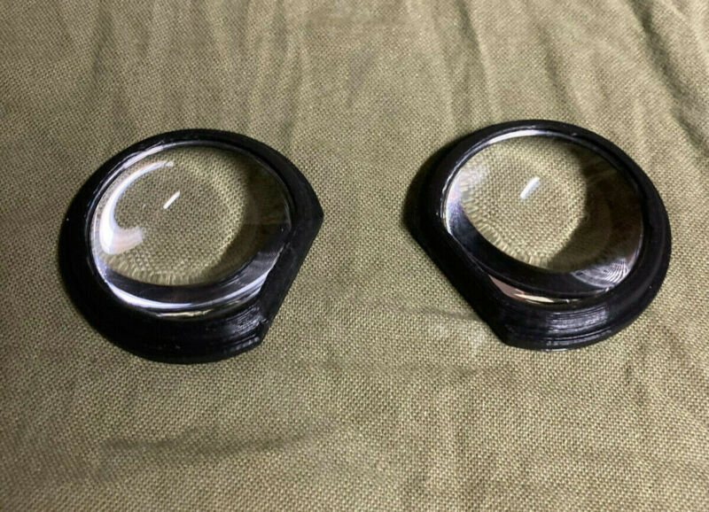 HTC Vive / Vive Pro / Cosmos Lens Mod (Gear VR Lenses with Adapter) - USED
