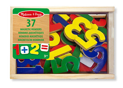 Melissa & Doug Wooden Magnetic Numbers Magnets 10449