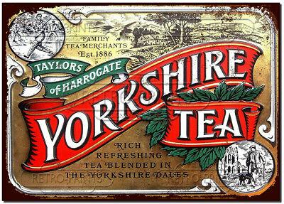 Yorkshire Tea - Vintage Metal Sign kitchen cafe bar pub retro decor
