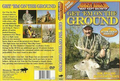 Roger Raglin Deer Hunting Get'em on the Ground Over 2 hours DVD NEW