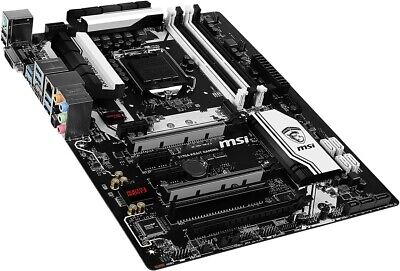 MSI Z170A KRAIT Gaming DDR4 HDMI ATX Motherboard