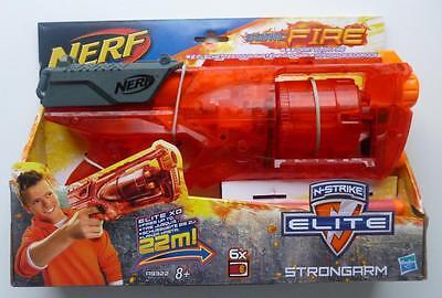 nerf- N-Strike Elite Sonic Fire Strongarm Blaster (Nuevo en caja)