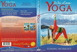 Wai Lana Yoga Easy Series - Toning Workout - DVD NEW - Award of Excellence