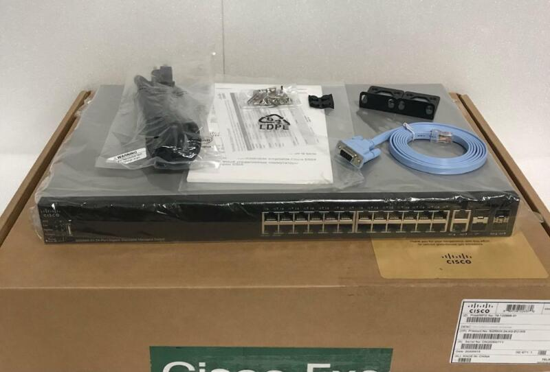 Cisco SG550X-24-K9 24-Port Layer 3 Stackable Switch