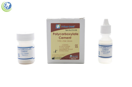 Dental Polycarboxylate Luting Crown & Bridge Cement Kit Sensitive Teeth Low Film