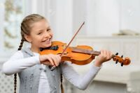 Violin lessons for children and adults.