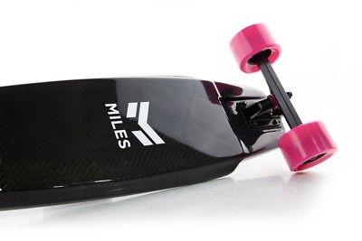 MILESPOWER NEW mini electric skate board, manly pink
