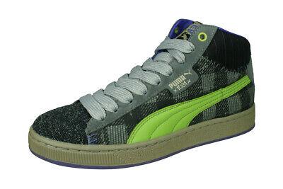 Puma Mr Bones Mid Mens Trainers High Tops Ankle Sneaker-Boots Steel Grey