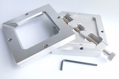 90mm X 90mm Bga Rework Jig Stencil Holder Solder Reflowing Reballing Tool Assist