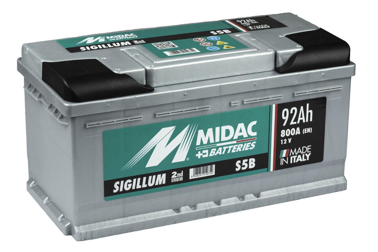 Batterie Voiture Midac 12V 44Ah.360A | eBay