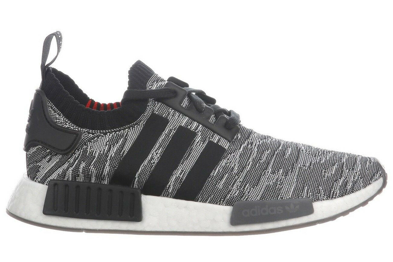 f490abb3e08f3 NEW Adidas NMD R1 Primeknit CQ2444 Men s Original Grey Running Shoes ...