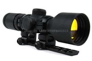 3-9x42 Ruger 10/22 Black Rifle illuminated Scope with Scope Mount & FREE Rings
