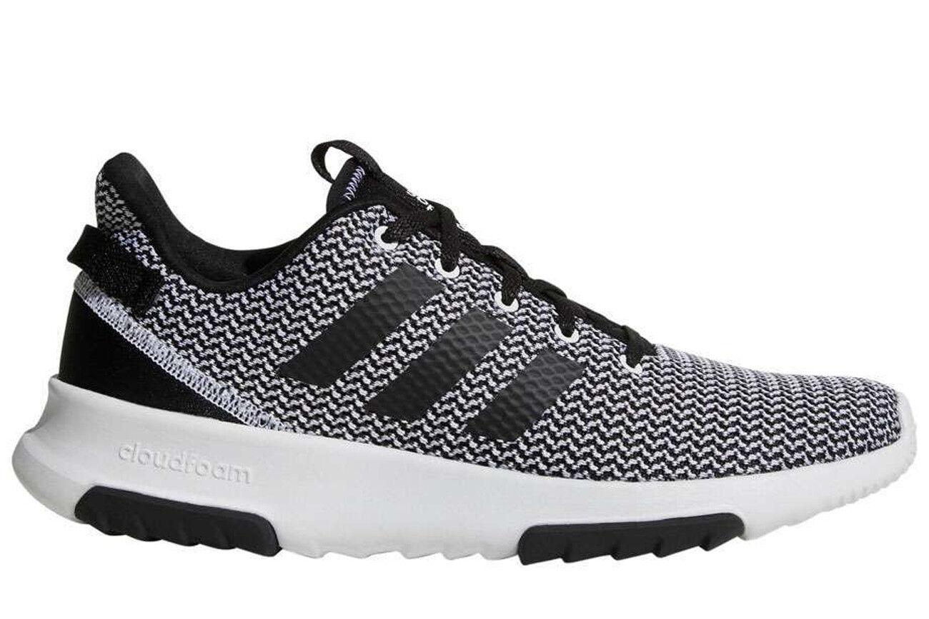 brand new 29191 634a7 NEW Adidas DA9305 Cloudfoam Racer TR Mens Black Running Lifestyle Shoes