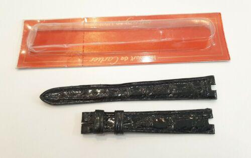 Bracelet de montre cartier pour vendÔme - bracelet cartier neuf 14 mm cuir croco