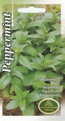 Gardeners Herbal Mint - Herb Seeds Mint Peppermint Herbal For Cold Drink Tea Garden Pictorial Packet UK