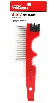 * BEST DEAL 5 in 1 PAINTING MUTLI-TOOL Roller Cleaner Brush Comb Can Lid (Best Paint Brush Cleaner)