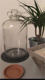 Glass Demi John jars,brewing or wedding decoration