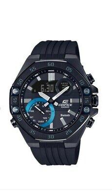 Casio Edifice ECB-10PB-1AEF World Time Bluetooth Alarm Stainless Steel WR 100m
