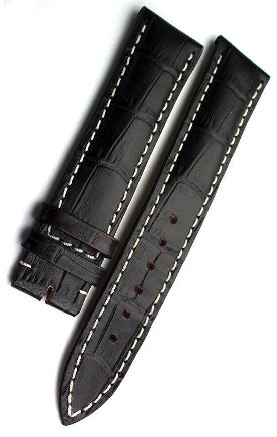 20mm original Sinn Kalbsleder Alligator Narbung Uhrenarmband Strap 20/18