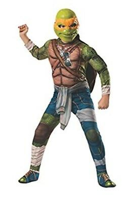 Teenage Mutant Ninja Turtles  Michelangelo Deluxe Halloween Costume Medium 8-10