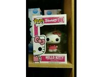 HELLO KITTY FUNKO POP 10 CM/ VINIL ANIME FIGURE #01 IN BOX