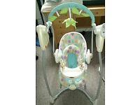 Graco swing and bounce baby swing and rocker 2 in 1