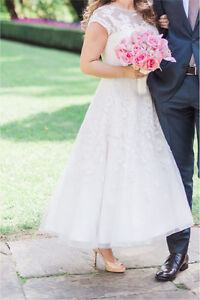 Tea Length Wedding Dress - Free for the right bride size 6