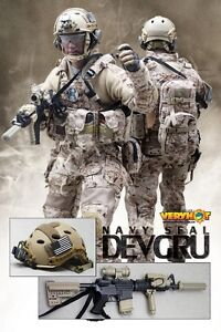 VERY HOT US US NAVY SEAL DEVGRU Set 1/6