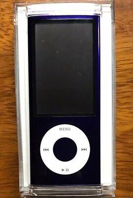Apple iPod Nano 5th Generation Purple 8GB + Accessories