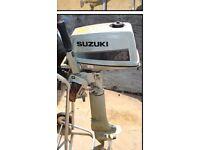 Suzuki DT4 aux engine
