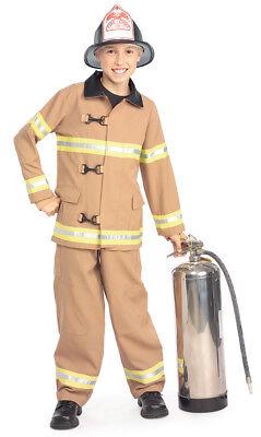 Kids Fireman Hats (Child's FIREFIGHTER Fireman Costume Jacket, Fire Hat &)