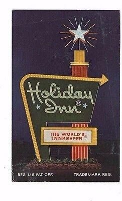 For sale 1972 postcard- Holiday Inn Advertising postcard - Burlington, North Carolina