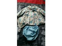 3pc Spanish dress set 3months