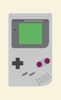 - Retro Gaming Framed Print – Nintendo Gameboy Console (Picture Poster Art SEGA)