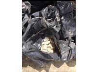 30+ bags of rubble free to collector