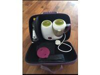Beaba babycook + cleaning liquid and travel bag