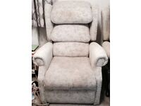 Two Rise & Recline chairs, very good condition, Two and a half years old, to be collected.