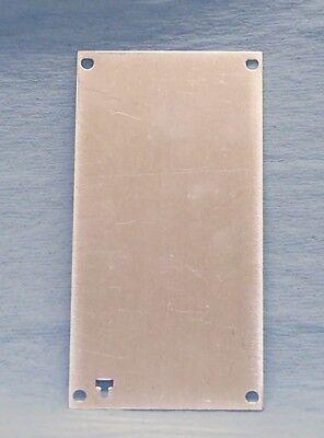 Nos New Tektronix Tm500 Tm5000 Series Plug In Blank Face Plate Repair Restore